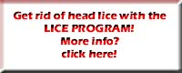get rid of lice for certain - no lotions - with the lice program