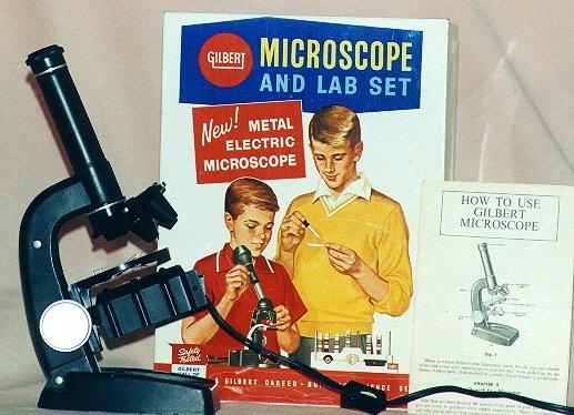 Ein vermächtnis von mikroskopie für kinder