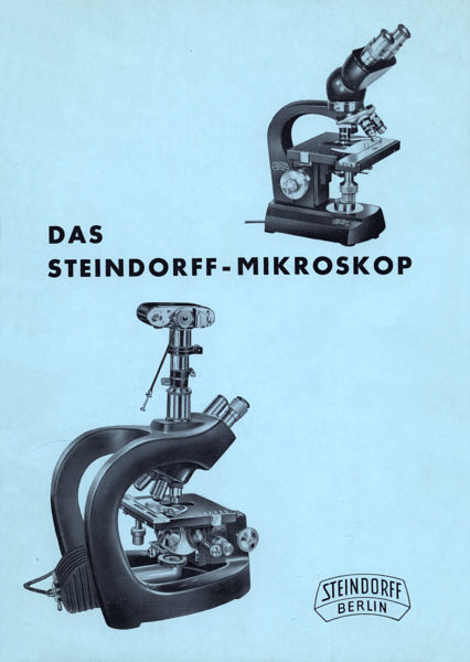 Figure 1 - 4: the steindorff&;microbe hunter&;. instrument # 540671
