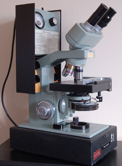 Typical Watson System 70 Phase Microscope