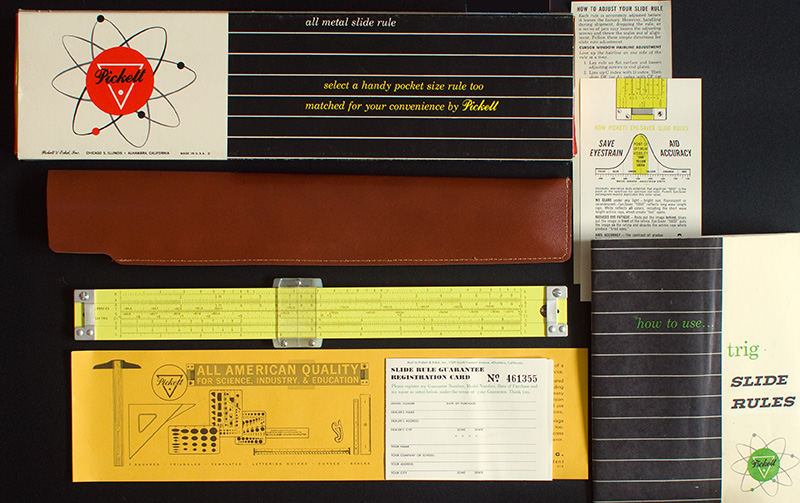 the appeal of slide rules for use and as collectables
