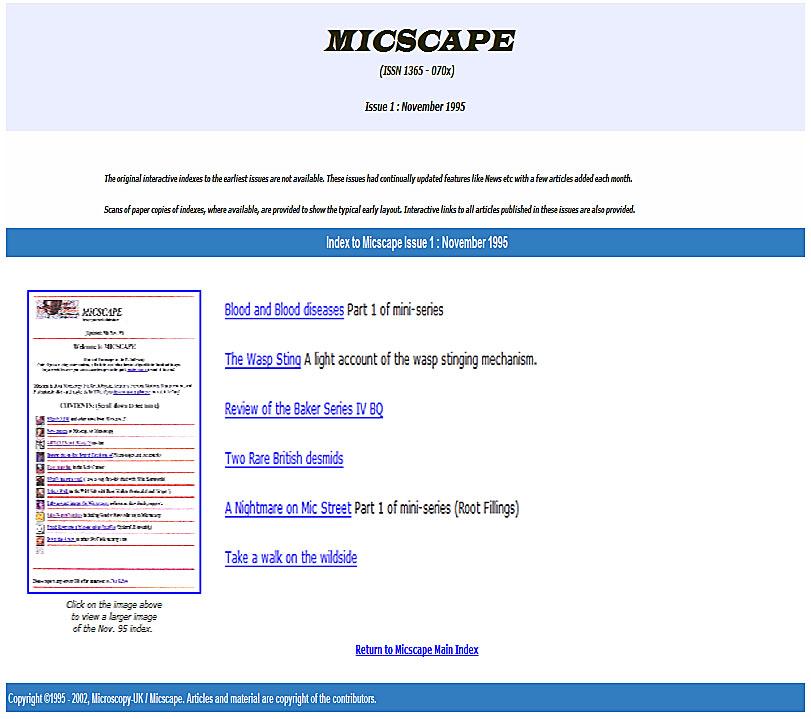 micscape magazine yearbook 1