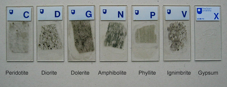 how to make rock thin sections