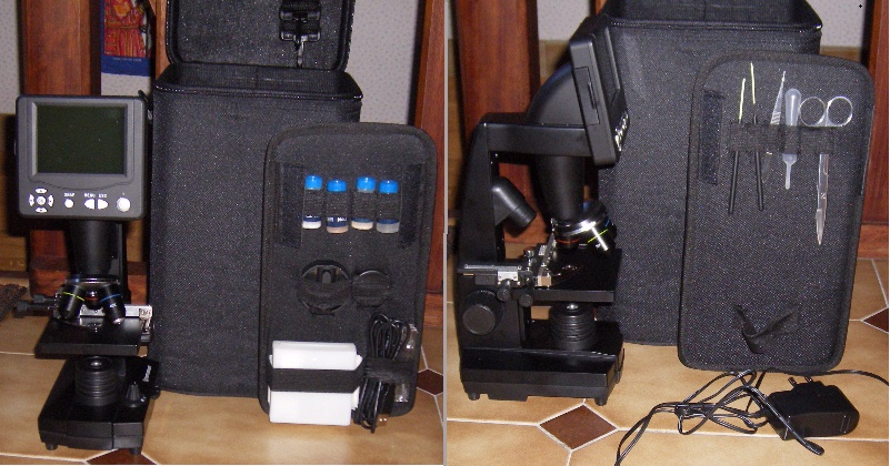 Teleskop express celestron cosmos lcd digital mikroskop