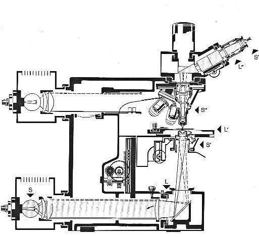 leitz orthoplan  universal largefield research microscope